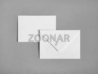 Two blank envelopes