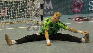 schwedischer Handballtorwart Johan Sjöstrand -Saison 2013/14 THW Kiel,Nationalspieler Schweden
