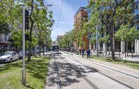 Tramway at Boulevard de Dunkerque, Marseille