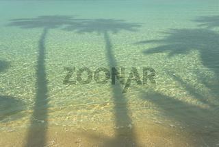 Chinese shades on the 'Siam' beach of Koh Kut
