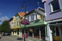 Holzhäuser in Stavanger 2