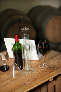 Analysing wine