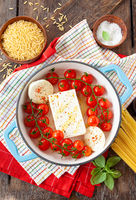 Feta und Tomaten, Pasta Sauce