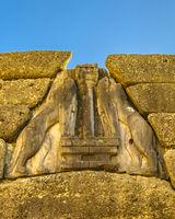 Lyon Gate, Micenas, Greece