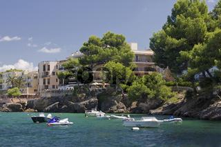 Bucht von Santa Ponca, Mallorca, Spanien