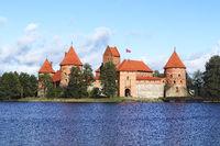 The watercastle Trakai in Lithuania, baltic states, europe