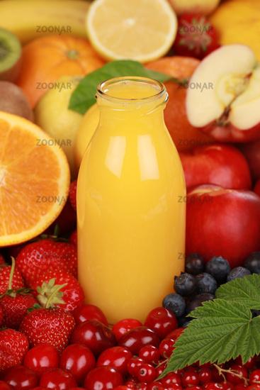 Smoothie aus Orangen