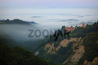 Abbazia di Monte Oliveto Maggiore, Toskana, Italy