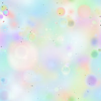 Colourful magic light, abstract bokeh in soft pastel light colours, seamless pattern