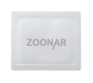 Blank packaging sachet bag