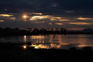 Sonnenaufgang Insel Runde  Norwegen