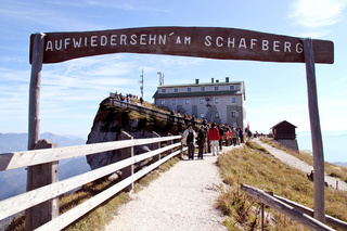 Österreich, Schafberg mit Schafberghaus