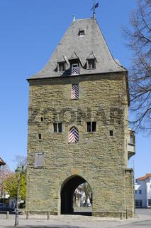 Osthofentor am Stadtwall, Soest, Westfalen, Nordrhein-Westfalen, Deutschland, Europa