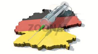 Deutschlandweite Impfkampagne