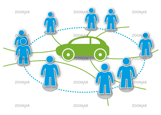 CarSharing Symbol