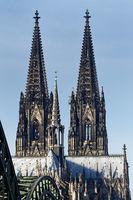 Doppeltürme und Vierungsturm des Kölner Doms