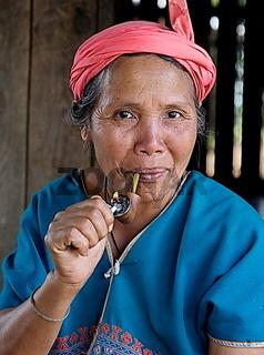 Thai Karen Bergvolk Frau