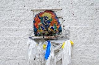 Gebetsschrein am Potala-Palast Lhasa Tibet