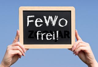 FeWo frei - Ferienwohnung