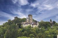 The medieval Castle Krautheim, Hohenlohe, Baden-Württemberg, Germany