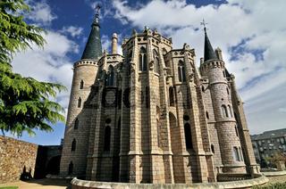 Spanien: Bischofspalast von Gaudí in Astorga