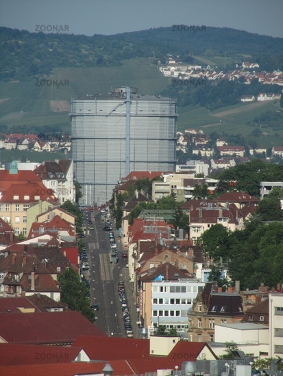 Gaskessel in Stuttgart Bad Cannstatt