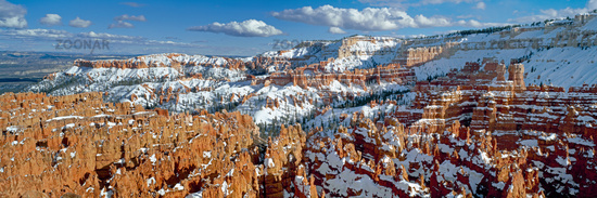 Panorama Bryce canyon national park