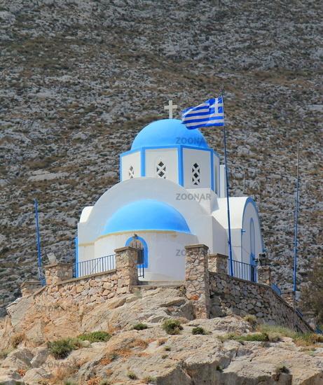 Church at Kamari, Santorini, Greece
