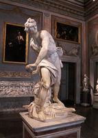 Rome, Galleria Borghese. David by Bernini