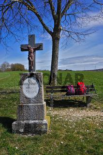 Feldkreuz, Wegkreuz, auf der Schwäbischen Alb