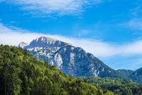 Landschaft im Klausbachtal im Berchtesgadener Land in Bayern
