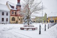 Marktplatz Rathaus von Harzgerode