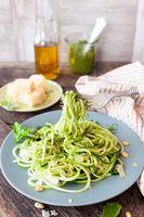 Zucchini Spaghetti mit Peto