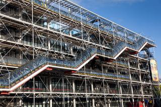 Pompidou museum, Paris, France