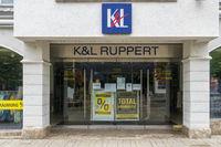 Filiale der Firma K&L Ruppert in Kempten
