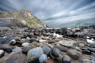 Rocks in San Juan de Gaztelugatxe