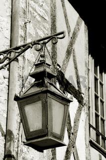 Street of Provins, Ille de France, France
