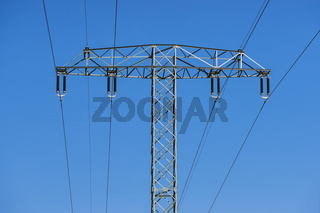 Hochspannungsmast | pylon