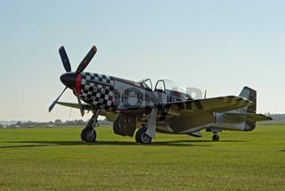 P-51 Mustang plane