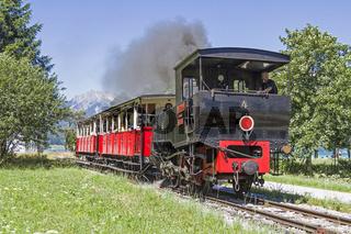 Nostalgische Zugfahrt