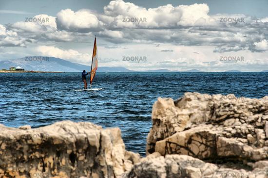 Windsurfing in Kroatien