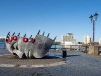 Merchant Seafarer's War Memorial at Cardiff Bay Harbour Drive