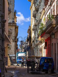 Karibik Kuba Havanna Strassenleben 2