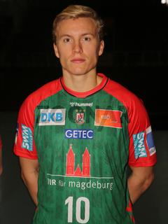 Gisli Kristjansson  SC Magdeburg HBL Liqui Moly Handball-Bundesliga Saison 2021-22