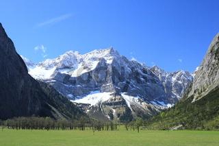 Ahornboden in Tirol