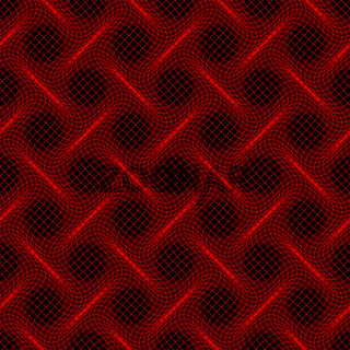 Wave lines seamless pattern.