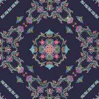 Rosemaling vector pattern 55