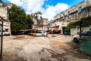 Karibik Kuba Havanna Parkplatz
