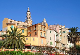 Menton an der Cote d`Azur