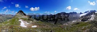 Panoramaaussicht vom Piz R6